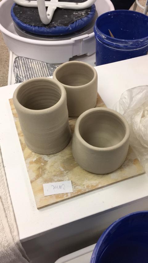 DIY Wheel-Thrown Clay Pottery Collection