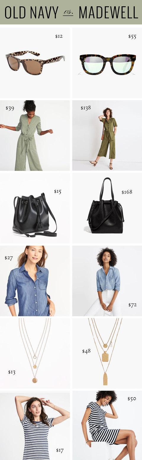 Swap These Madewell Pieces For Old Navy