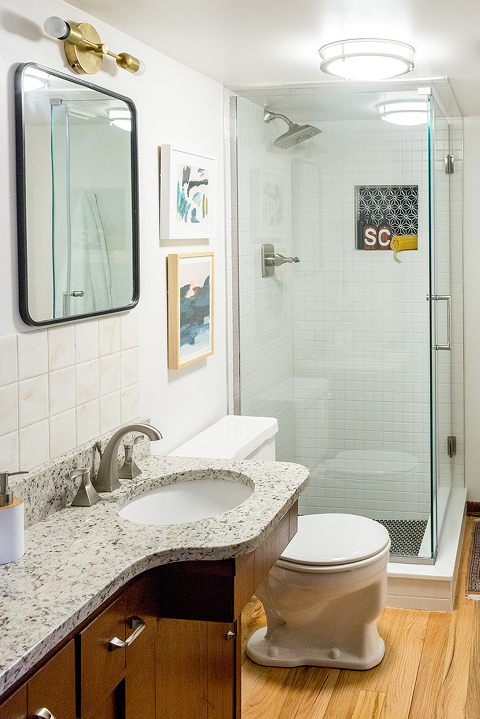 Revealing Our Renovated Hall Bathroom