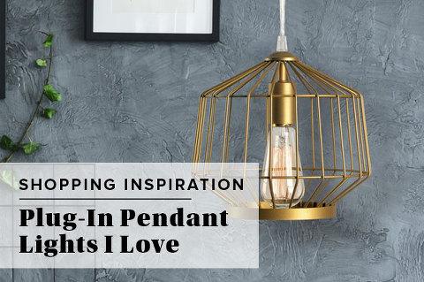12 Plug-In Pendant Lights I Love