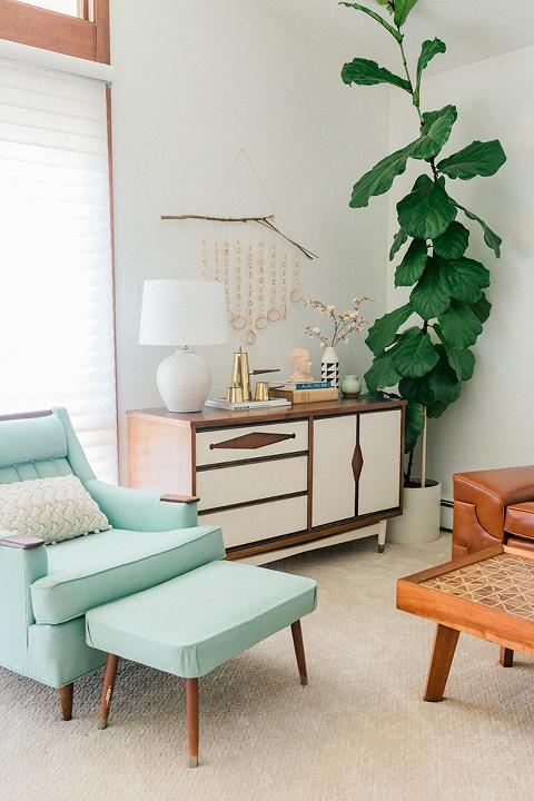 A Mini Fall Living Room Update