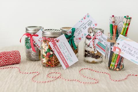 5 Mason Jar Christmas Gift Ideas