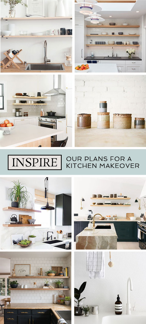 Plans For A Mini Kitchen Makeover