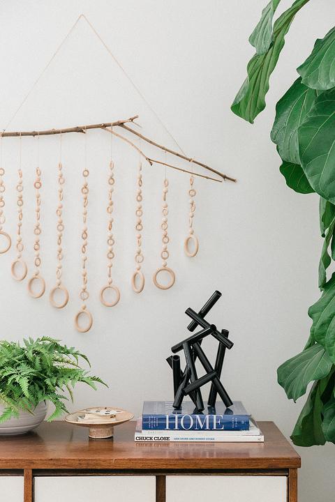 DIY Modern Minimalist Kinetic Pipe Sculpture