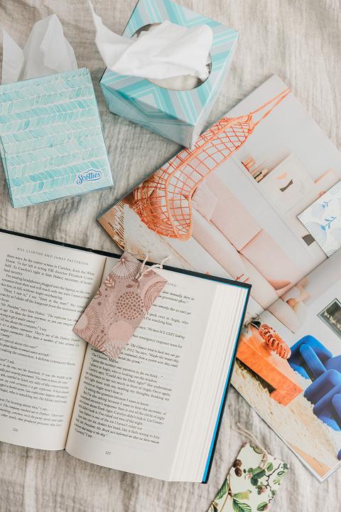 My Spring Reading List & DIY Bookmarks