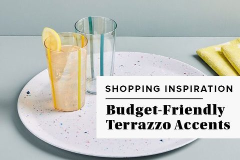 Budget-Friendly Terrazzo Home Accents