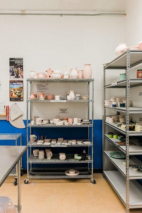 My Arrangement At The Pottery Studio