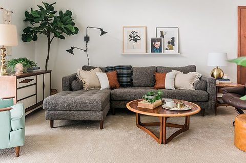 Article Sven Sectional Couch Review | dreamgreendiy.com + @article #ad #SvenSofa #ourArticle