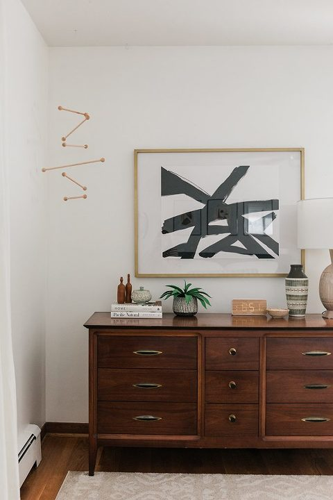 Secondhand Score: Traditional Mid-century Dresser