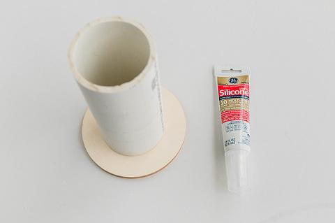DIY Minimalist Faux Terracotta Vase