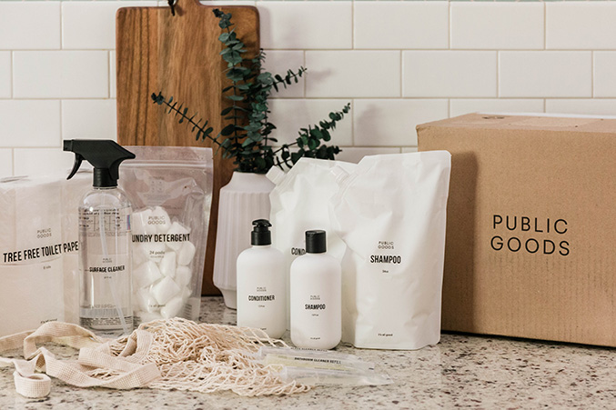Guilt-free home cleaning and personal care products