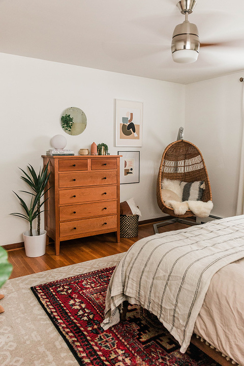One Bedroom Two Ways Using AllModern | dreamgreendiy.com + @allmodern #ad