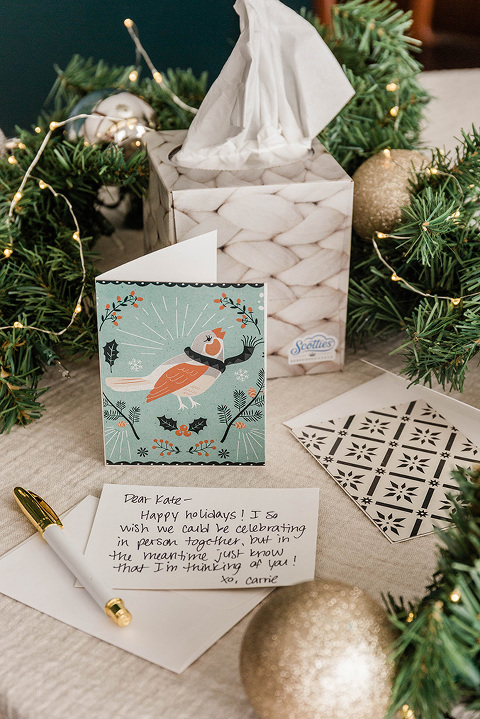 From Tissue Box To DIY Greeting Card |dreamgreendiy.com + ScottiesFacial.com #ad #MyScottiesStyle