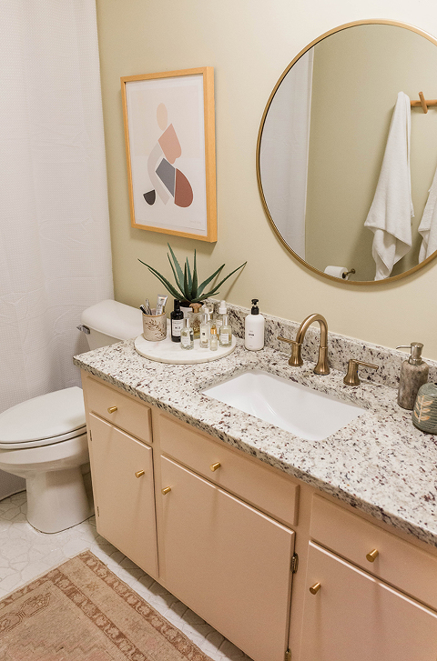 Repaint Your Vanity Without Sanding