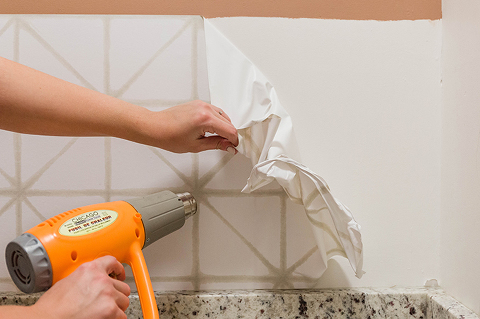How To: Peel-And-Stick Wallpaper Removal