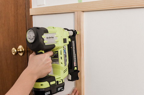 DIY Board And Batten Feature Wall