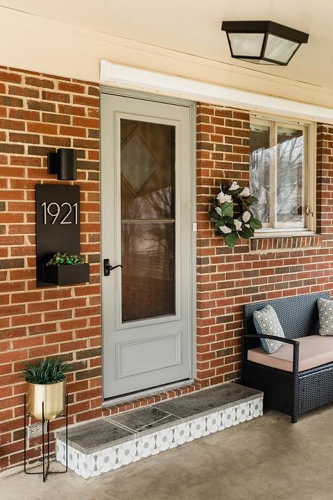 Our DIY Side Door Entry Makeover