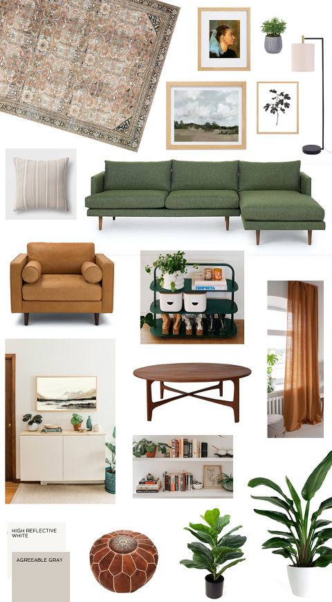 Functional Living Room Redesign Plans   dreamgreendiy.com + @article #gifted #OurArticle #BurrardSofa