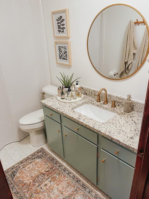 Painting A Bathroom Vanity (Again)