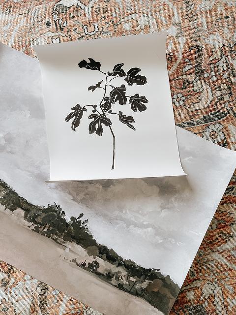 Updated Living Room Sneak Peek   dreamgreendiy.com + @article #gifted #OurArticle #BurrardSofa