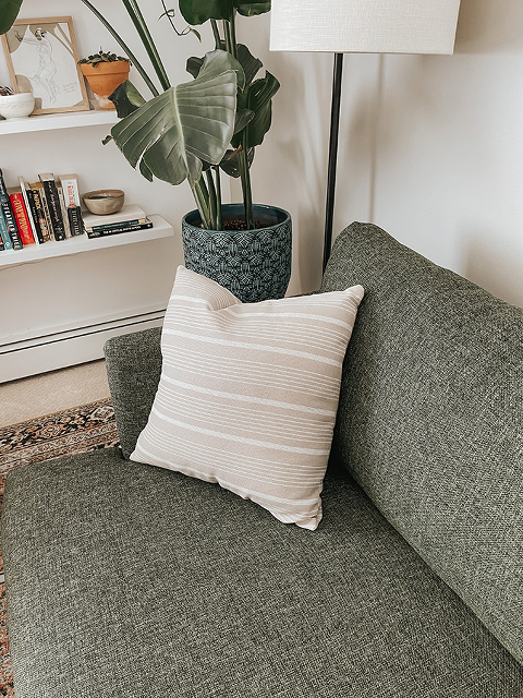 Our Living Room Reveal With @Article   dreamgreendiy.com #gifted #OurArticle #BurrardSofa #SvenChair