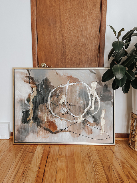DIY Abstract Art Using What You Have